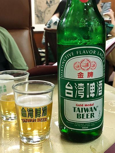 台湾 台中 沁園春 ビール
