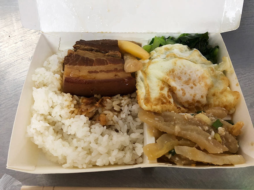第二市場 台中 山河魯肉飯 魯肉飯