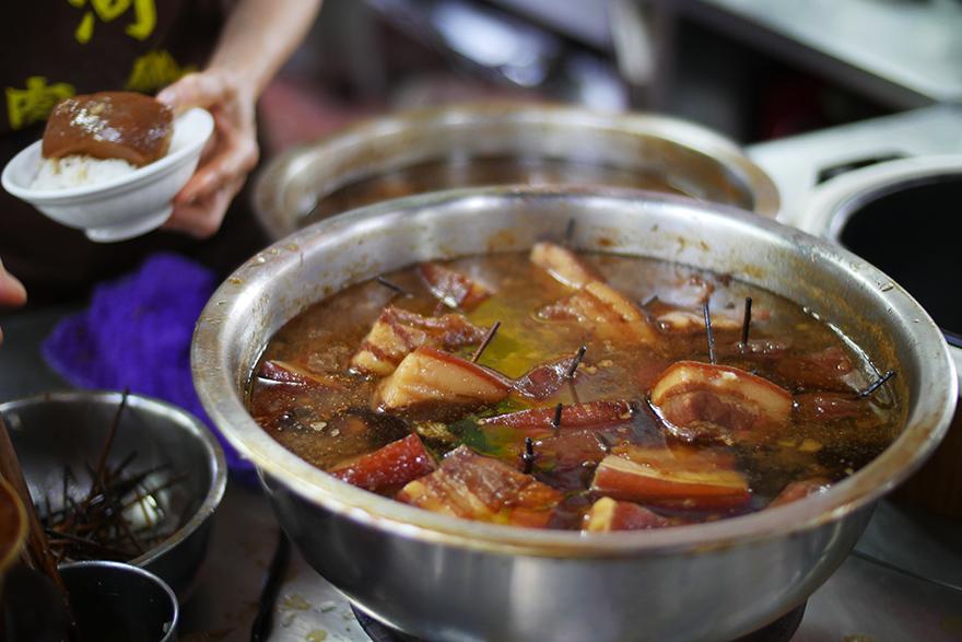 第二市場 山河魯肉飯 台中