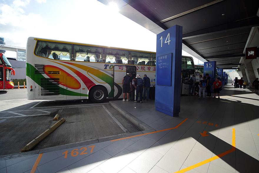 台湾 台中 桃園空港 バス
