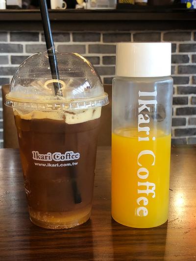 台湾 台中 桃園空港 Ikari Coffee イカリコーヒー マンゴートニック