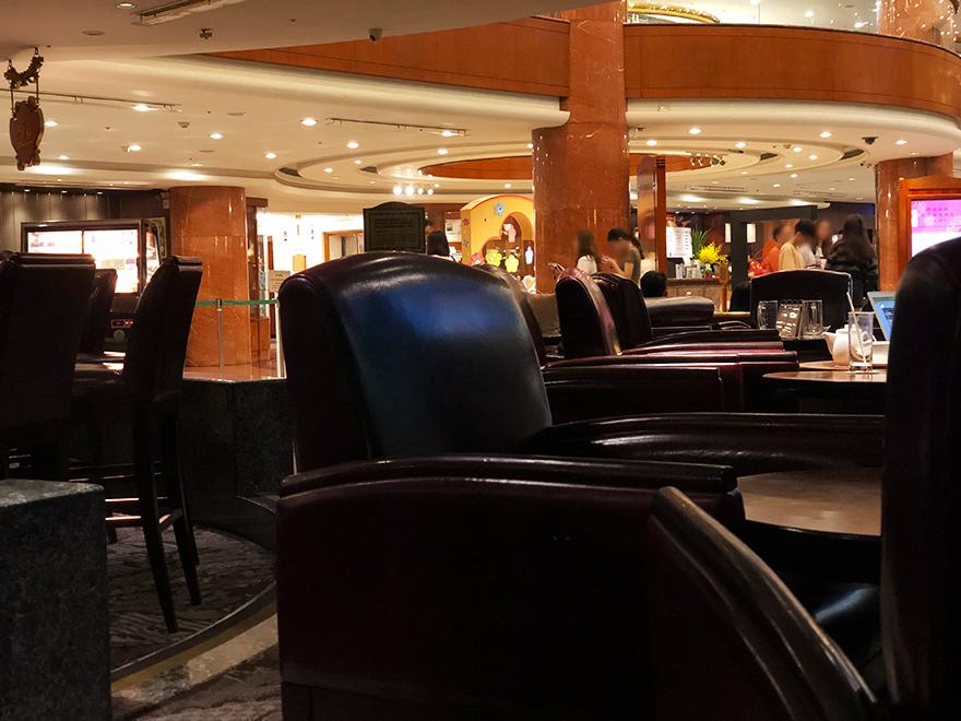 台湾 台中 エバーグリーンホテル ラウンジ