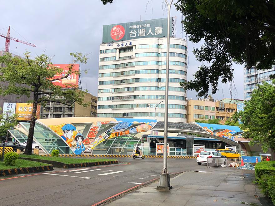 台湾台中旅行 台中の街並み