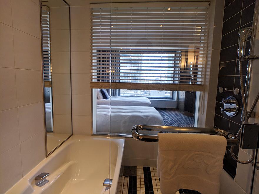 ニューオータニイン横浜プレミアム ホテル みなとみらい 横浜 部屋 お風呂
