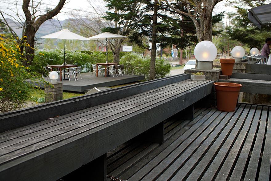 ペーパームーン 山中湖 ケーキ テラス