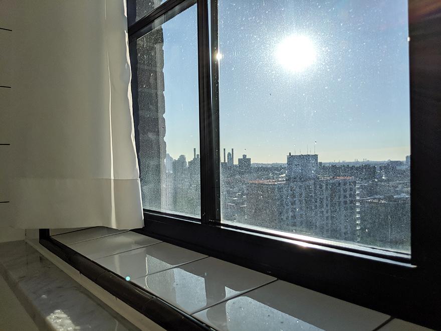 ニューヨーク旅行 ローワーイーストサイド The Ludlow Hotel ルドローホテル 部屋 バスルーム