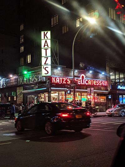 ニューヨーク旅行 ローワー・イースト・サイド The Ludlow Hotel カッツ デリカテッセン katzs