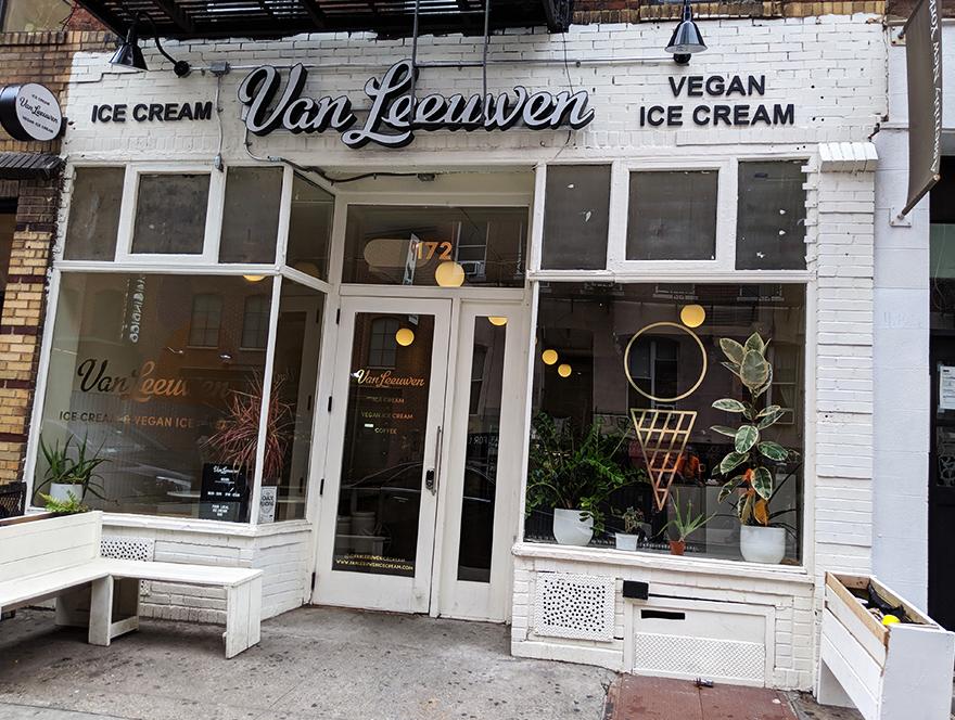 ニューヨーク旅行 ローワー・イースト・サイド The Ludlow Hotel van leeuwen ビーガン アイスクリーム
