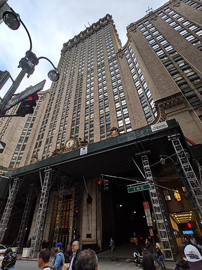 ニューヨーク旅行 Grand Central Terminal グランドセントラル