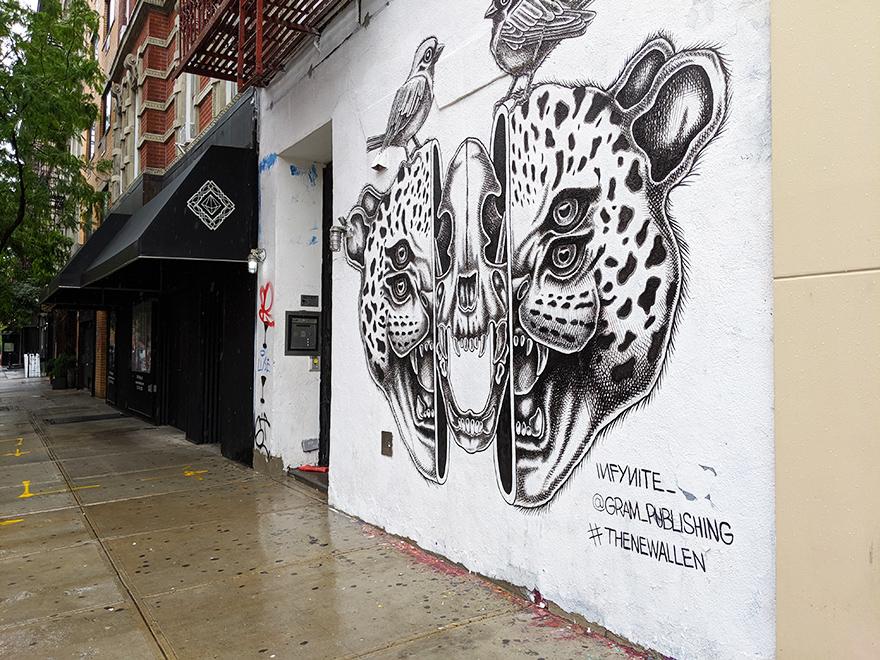 ニューヨーク旅行 ローワーイーストサイド ルドローストリート Ludlow Street