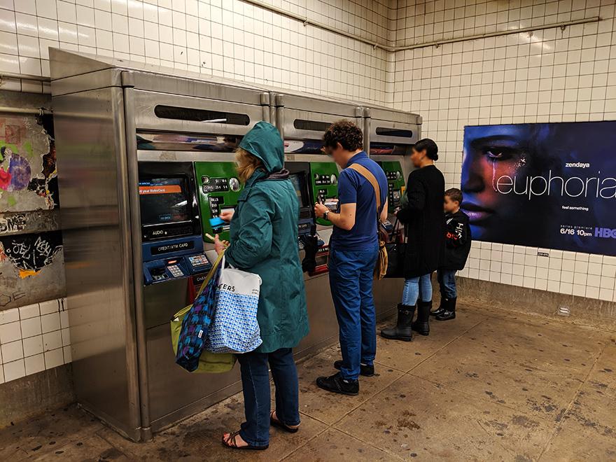 ニューヨーク旅行 ローワーイーストサイド 地下鉄 2 Avenue Station