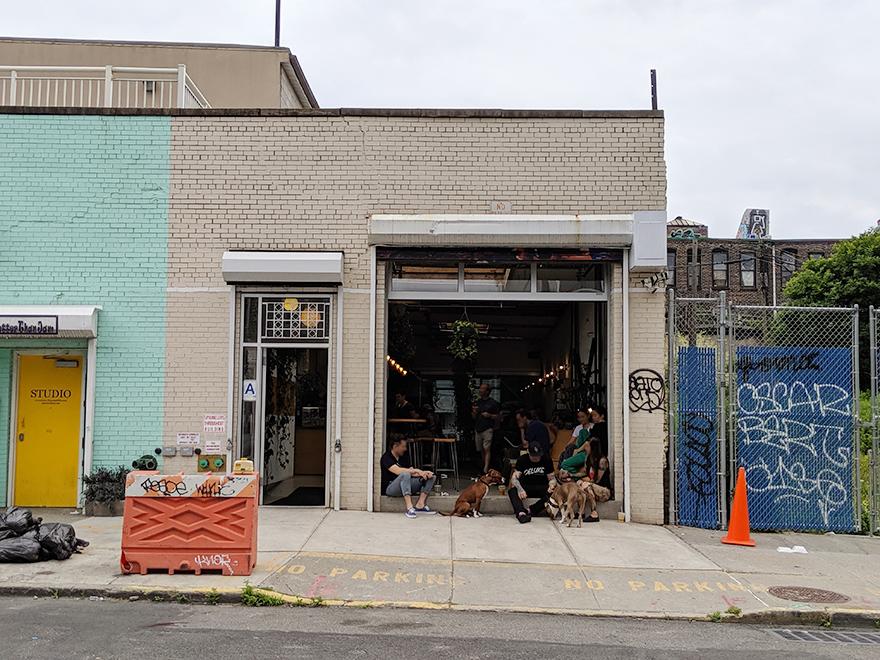 ニューヨーク SEY COFFEE ブルックリン カフェ