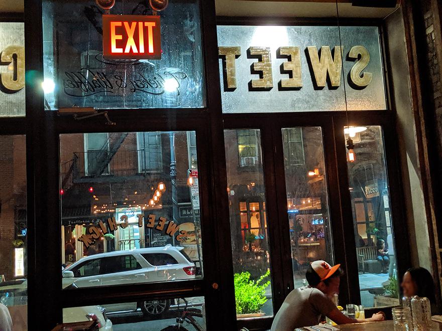 ニューヨーク旅行 ローワー・イースト・サイド Sweet Chick スウィートチック