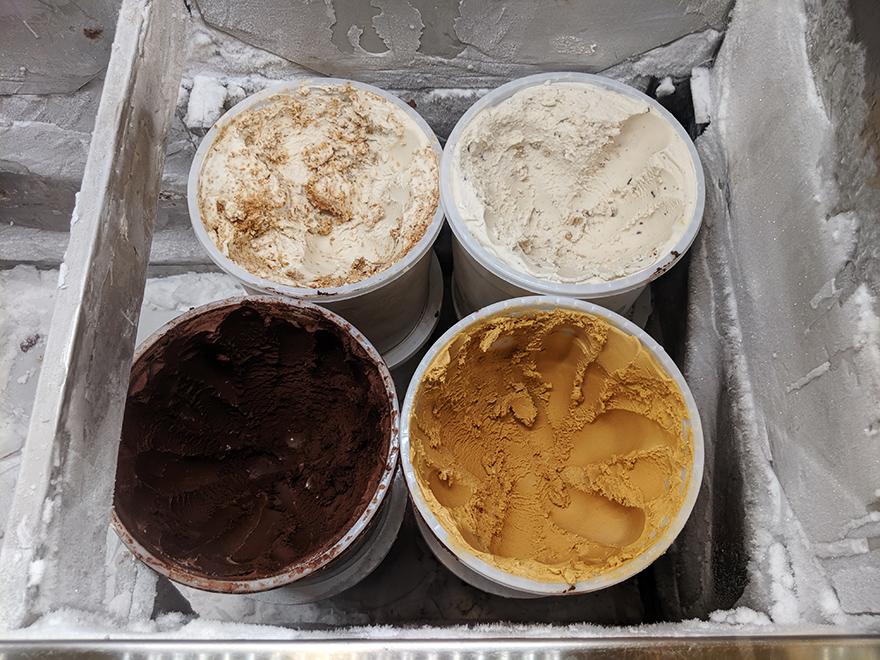 ニューヨーク 旅行 ビーガンアイス Van Leeuwen Ice Cream アイス ビーガン