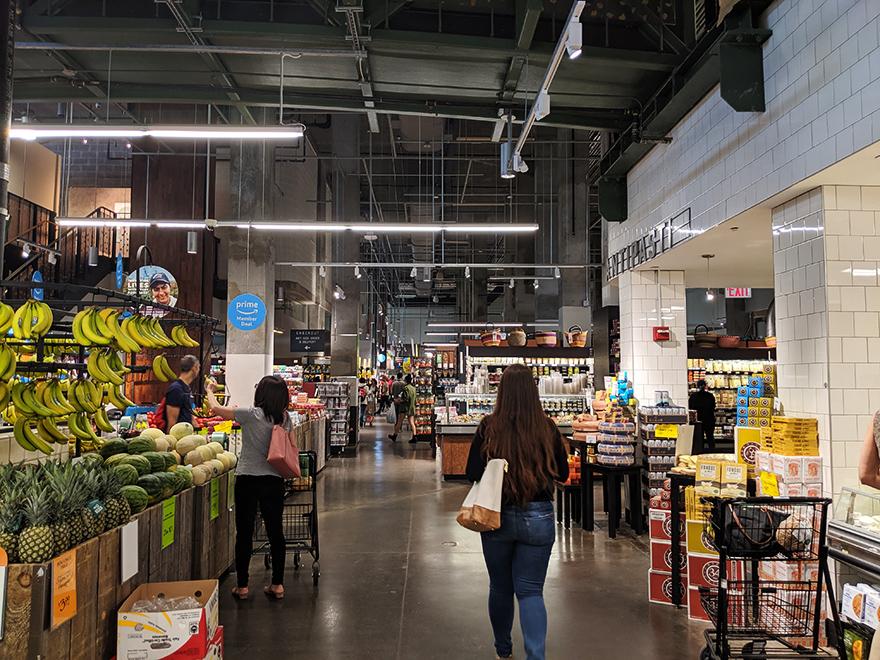 ニューヨーク旅行 ローワー・イースト・サイド ホールフーズマーケット Whole Foods Market
