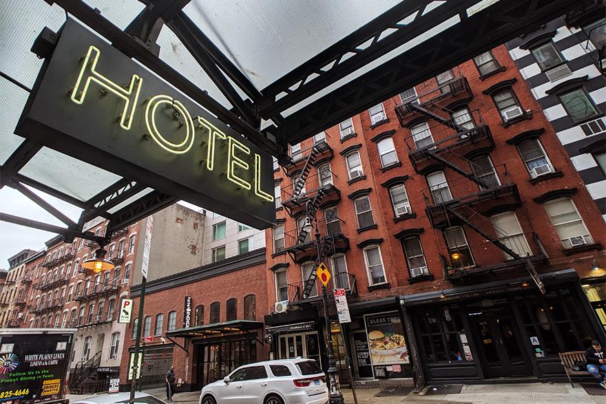 ニューヨークのホテルTHE LUDLOW HOTEL