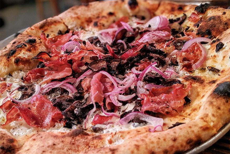 ニューヨークのブルックリンにあるピザ屋Robertas