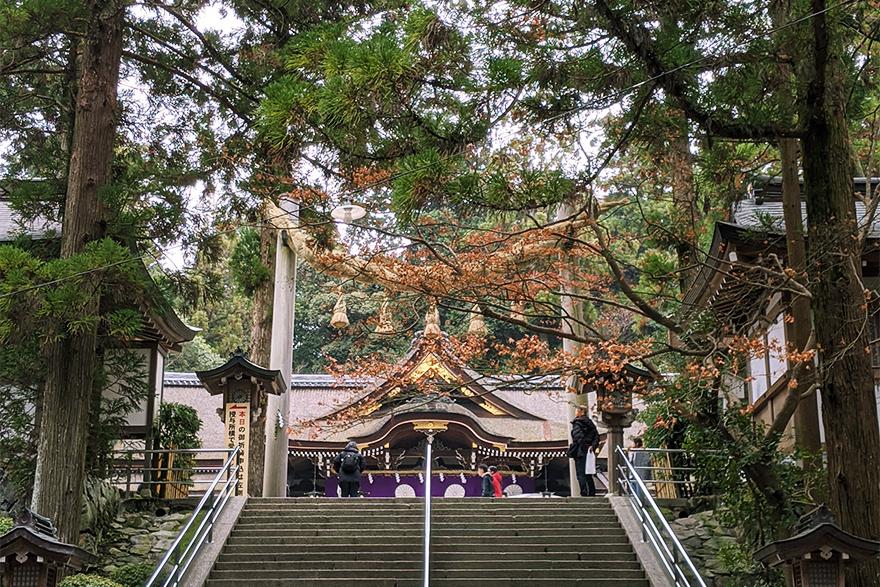 大神神社 冬至の三輪山登拝