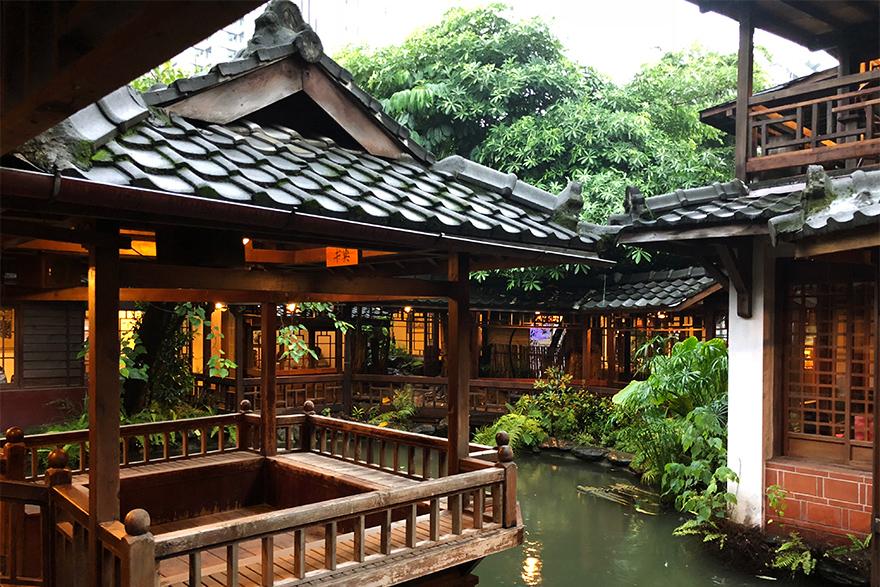 茶藝館「無為草堂」