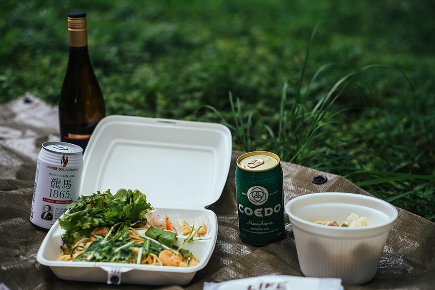 代々木公園でピクニック