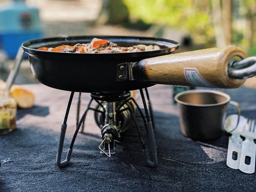 キャンプ 料理 鶏肉のマスタード焼き