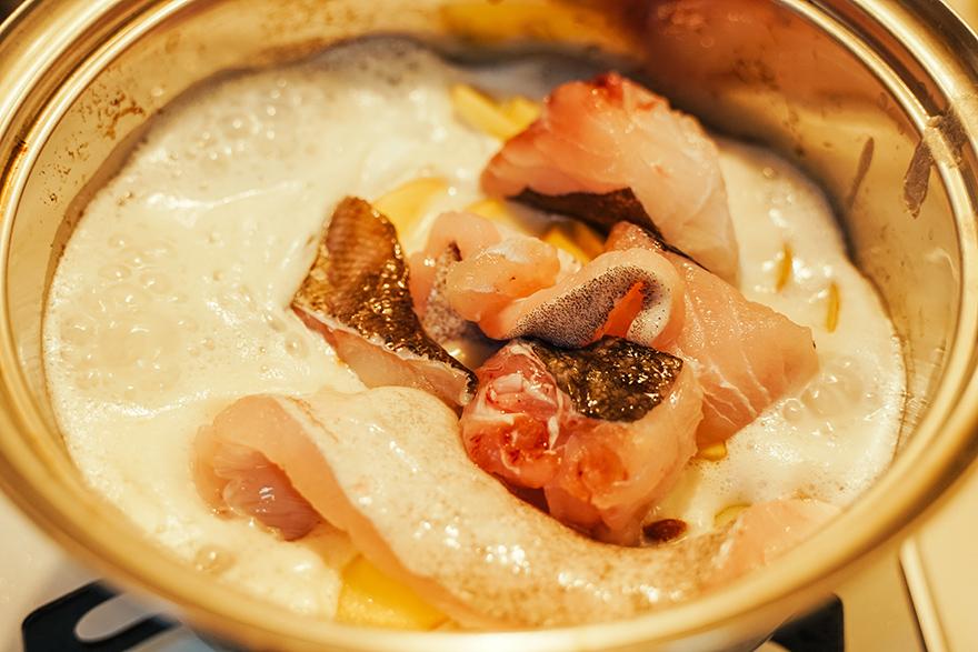 おうちイタリアン「鱈のブランダード」の仕込み