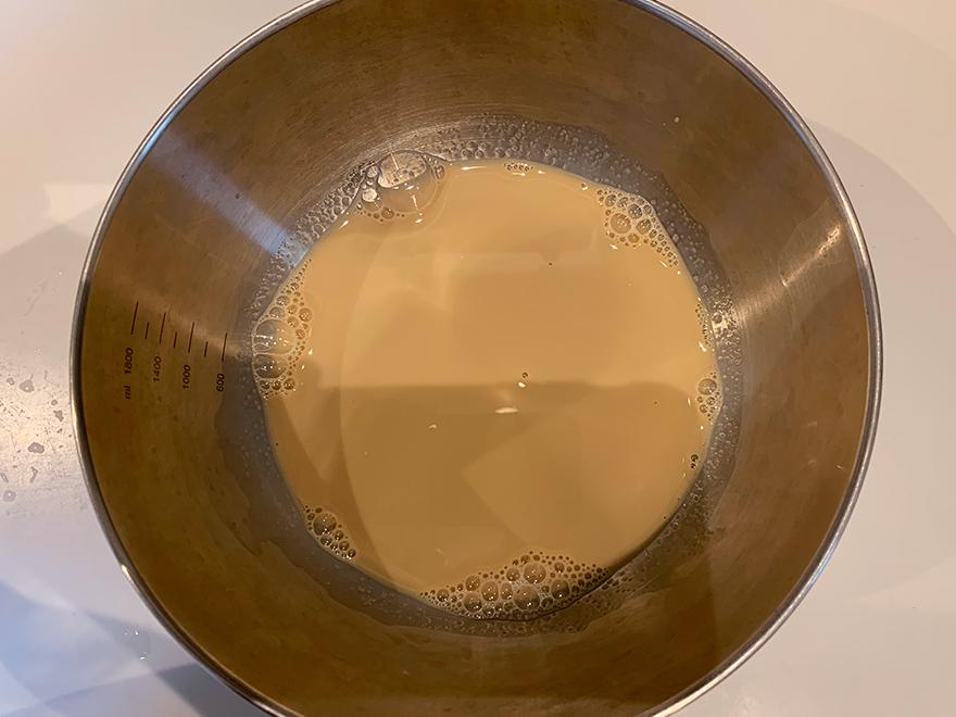 カゼインフリー手作り豆乳プリンの作り方