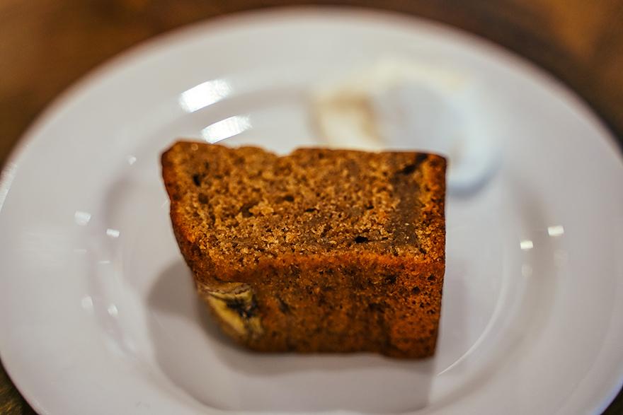 渋谷区富ヶ谷にあるボンダイ コーヒー サンドウィッチーズの全粒粉のバナナブレッド