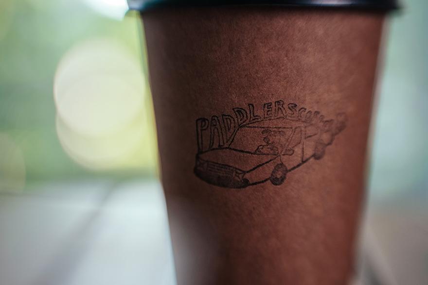 パドラーズコーヒーのテイクアウト