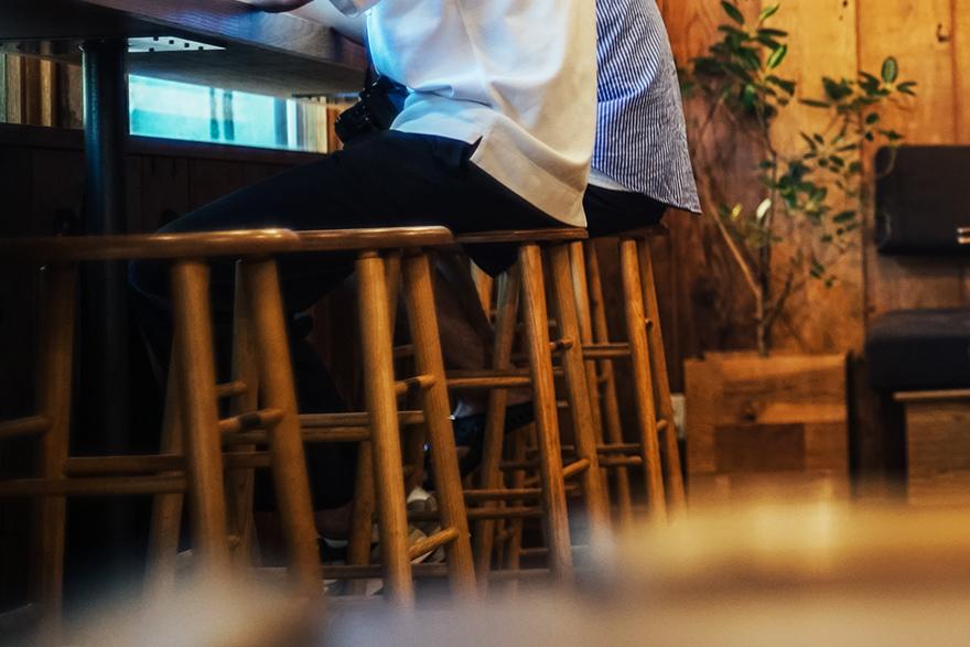 パドラーズコーヒー店内
